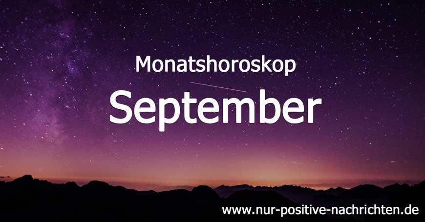 Monatshoroskop September 2017